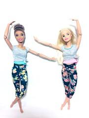 (Bubblegum18) Tags: fashionista barbie yoga sport m2m mattel 2019