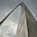 The Curve of an Arch Across the Missouri Skies (Gateway Arch National Park)