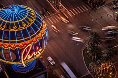 Las Vegas-6 (coopertje) Tags: unitedstates usa nevada las vegas verenigde staten vs thestrip boulevard casino architecture evening night lights america amerika paris eiffel tower balloon sinncity