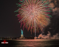 Statue Of Liberty Fireworks-1-2 (bkrieger02) Tags: fireworks fireworksphotography nightphotography longexposure statueofliberty libertyisland ellisisland hudsonriver brooklyn louisvalentinojrpark redhook nyc newyorkcity colors colorful waterreflections reflections canonusa teamcanon 7dmkii sigma sigmaart artlens 24105