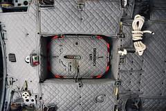 Aft Escape Hatch: Interior View (Ian E. Abbott) Tags: 2710 0927019 cargocompartment escapehatch escaperope uscoastguard uscg coastguard airstation sacramento alenia hc27j c27j spartan searchandrescue sar maritimepatrol