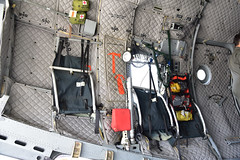 HC-27J Crew Seats, Emergency Gear (Ian E. Abbott) Tags: 2710 0927019 cargocompartment crewseats uscoastguard uscg coastguard airstation sacramento alenia hc27j c27j spartan searchandrescue sar maritimepatrol