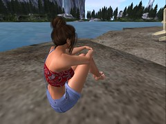 Relaxing by the water 2 (rebeccaj2750) Tags: firestorm secondlife secondlife:region=glanduin secondlife:parcel=glanduin secondlife:x=188 secondlife:y=2 secondlife:z=21