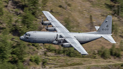 Hercules C130 from the Royal Netherlands Air Force (Kerrzie) Tags: rnaf hercules c130 low lowlevel lfa7 thirlmere lakedistrict cumbria aviationphotography aviation