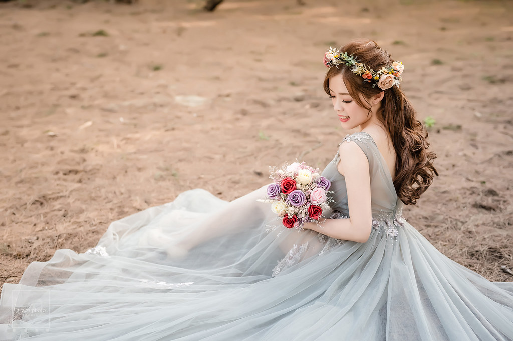 婚紗拍攝|台北婚紗|海邊|攝影棚