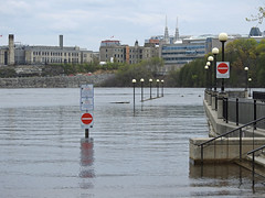 The Hull (Gatineau) Marina overwhelmed by the flooded, Ottawa River in Gatineau, Quebec (Ullysses) Tags: portdeplaisancejacquescartier marinadehull hullmarina hull gatineau quebec canada spring printemps springthaw flooding flood inondation ottawariverfloodof2019 rivièredesoutaouais marina lampposts
