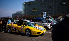 Wealthy otaku (Aozaki Nico) Tags: ferrari 360spider ferrari360 v8 supercar sportcar exotic itasha luxury car automobile automotive photography 痛車 痛車天国 japan ミライアカリ miraiakari vtuber