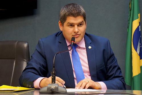 Deputado Alexandre Xambinho - Reunião Ordinária da Comissão Especial da BR 101 - 21.05.2019
