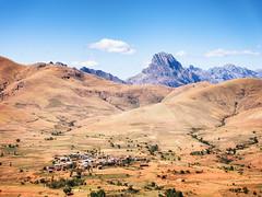 Andringitra View (davе) Tags: 2018 madagascar andringitranationalpark landscape arid mountain sonya7 sky village sony fe 24105mm sonyfe24105mmf4 sonyfe24105mmf4goss