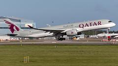 Qatar Airways A7-ALC A350-941 EGCC 04.05.2019 (airplanes_uk) Tags: 04052019 a350 a7alc airbus aviation man manchesterairport planes qatar qatarairways