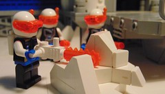 ice station gamma (idcomerunning) Tags: lego iceplanet space snowplow