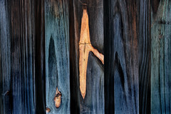 wood fence (Troy McCullough) Tags: fence abstract wood blue texture patterns fujifilm fujifilmxt3 fuji wallpaper