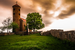 Church (Andrzej Kocot) Tags: andrzejkocot art architecture adventure landscape landscapes creative colors clouds poland polska photography sky sunrisemood surreal 1240mmf28 em10markii light microfourthirds olympus omd