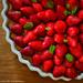 Tarte aux fraises, maison.