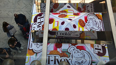 T-Rex Cookie tent, Nicollet Mall Farmers' Market (schwerdf) Tags: downtownminneapolis minneapolis minnesota nicolletmallfarmersmarket
