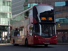 "National Express West Midlands Wright Streetdeck 3304 ""Alicia Lillian"" SL16 YPO (Alex S. Transport Photography) Tags: bus outdoor road nationalexpress vehicle nationalexpresswestmidlands nxwm wright streetdeck route126 3304 alicialillian sl16ypo"