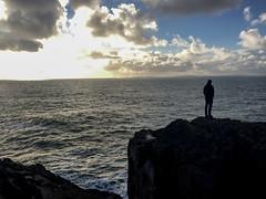 Distance (cara.crowley) Tags: ireland cliff ponder wander distance burren cliffs