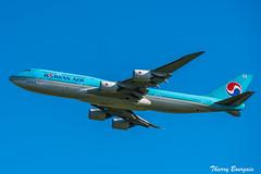 [CDG] Korean Air Boeing 747-8 _ HL7643 (thibou1) Tags: thierrybourgain cdg lfpg spotting aircraft airplane nikon d810 tamron sigma takeoff koreanair boeing boeing747 b747 b747800 b7478 b748 hl7643 seoul icn