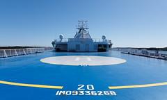 Helipad (Antti Tassberg) Tags: finnlady laiva helsinki suomi helipad alus finland scandinavia ship vessel