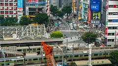 DSC_0193 (Adrian De Lisle) Tags: asia city cityscape crosswalk crowd japan people shibuya shibuyacrossing shibuyahikarie tokyo train trainstation shibuyaku tōkyōto