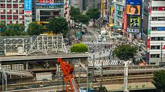 DSC_0044 (Adrian De Lisle) Tags: asia city cityscape crosswalk crowd japan people shibuya shibuyacrossing shibuyahikarie tokyo train trainstation shibuyaku tōkyōto