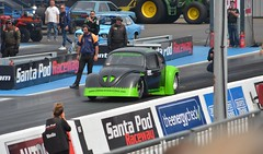 (Sam Tait) Tags: doorslammers santa pod raceway england drag strip race track black wanter beetle flat 4 four vw volkswagen wanger