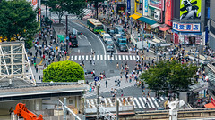 DSC_0199 (Adrian De Lisle) Tags: asia city cityscape crosswalk crowd japan people shibuya shibuyacrossing shibuyahikarie tokyo train trainstation shibuyaku tōkyōto