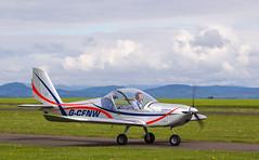 G-CFNW Eurostar, Scone (wwshack) Tags: egpt eurostar evector psl perth perthkinross perthairport perthshire scone sconeairport scotland scottishaeroclub gcfnw