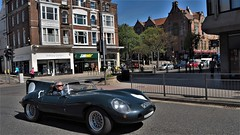 Driving in Old World Style. (ManOfYorkshire) Tags: lemans qcar kitcar car auto automobile assembled replica jaguar 2000cc petrol engine registered scarborough yorkshire northyorkshire gb uk england motoring style oldfashioned