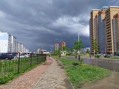 Тучки над Хабаровском (KhabMan) Tags: хабаровск небо тучи здания sky clouds khabarovsk russia city город