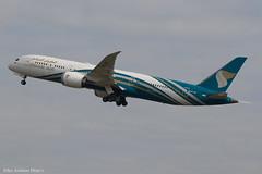 A4O-SF (Baz Aviation Photo's) Tags: a4osf boeing 7879 dreamliner oman air oma wy heathrow egll lhr 27l wy104