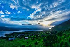 Sky Wonders (*Capture the Moment*) Tags: 2012 clouds cruise cruiseship elemente himmel hurtigruten kreuzfahrt norway norwegen scenery sonye18200mmoss sonynex7 trollfjord wasser water wolken