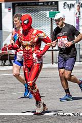 Spiderman de Maraton en Madrid (erubicon) Tags: españa madrid maraton edprocknroll2019 canoneos7d canon70200lf4is ickertalexander dorsal5299