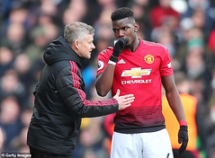 Manchester united coach, Solskjaer offers Paul Pogba captaincy in a bid to convince him to stay and shun Real Madrid move (baydorzblogng) Tags: nigeria news africa international celebrity gists other education fashion