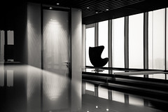 Empty chairs in business center (liseykina) Tags: abstractarchitecturebusinessmoderncitywhiteblackbackgroundurbanmanconceptglassfutureviewcityscapecorporatepeopleofficeskyscrapermetropolitanbuildingdesignarchitecturalinteriorchairwindowemptygraphicg original big stock abstract architecture business modern city white black background urban man concept glass future view cityscape corporate people office skyscraper metropolitan building design architectural interior chair window empty graphic geometry contrast stripes lattice grid loneliness