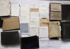 Glass negatives (Adventures of the Unknown Photographers) Tags: glassslide glassnegative oldphoto oldphotos oldphotographs drrothschild