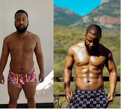 "Rapper, Cassper Nyovest says ""Consistency and disciple is the name of the game"" as he flaunt incredible body transformation (baydorzblogng) Tags: nigeria news africa international celebrity gists other education fashion"