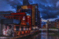 Tribute to Peterloo (Kev Walker ¦ 10 Million Views..Thank You) Tags: architecture building city england manchester panorama panoramic sky town transport water background bridge britain british business canal castlefield center central centre circle cityscape commercial design district downtown dusk europe european great illuminated kingdom landmark light metro metropolitan modern movement night overground piccadilly places public quays railway reflection sign skyline skyscraper speed square station tourism tower trackquayside traffic train transportation travel twilight uk united urban view yellow peterloo tribute riverirwell bridges