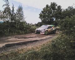 Miroslav Jakeš - Skoda R5 (Barum Czech Rally 2018) (Martin Latal) Tags: red rally rallye czech barum czechrally lukyanek mareš jakeš maják