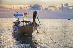 Ao Nang Beach (Krabi - Thailand) (Muhammad Habib Photography) Tags: ao nang beach krabi thailand tourist attraction asia tropical water boat canon 6d tamron traveling traveler hbeebz muhammadhabib muhammadhabibphotography habib hbb travel blogger diary
