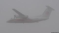 P9161651 TRUDEAU FOGGY MORN (hex1952) Tags: yul trudeau canada bombardier dash8 dhc8 dash aircreebec