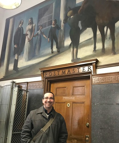 Jay Papers Editor Robb Haberman Visits John Jay's hometown of Rye