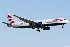 G-BZHB (Andras Regos) Tags: aviation aircraft plane fly airport lhr egll heathrow approach landing ba britishairways speedbird boeing 767 b763 767300er