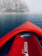 Canadian (cowgirlrightup) Tags: canadian kayak kayakinginfrostylake lake molsoncanadian frost snow cowgirlrightup
