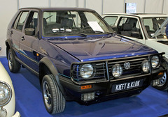 Golf Country (Schwanzus_Longus) Tags: techno classica essen german germany old classic vintage car vehicle hatchback suv crossover 4x4 awd syncro volkswagen vw golf country