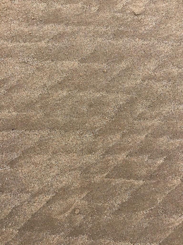 Sand patterns at Fraisthorpe beach