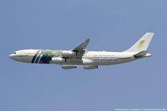 Sky Prime Airbus A340-200 HZ-SKY1 (Vasily Kuznetsov) Tags: planespotting spotting uuww vko vnukovo airbus a340 a340200 hzsky1