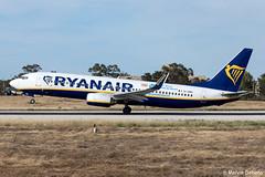 Ryanair Boeing 737-8AS  |  EI-DWX  |  LMML (Melvin Debono) Tags: ryanair boeing 7378as | eidwx lmml costa brava cn 33630 livery
