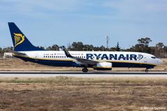 Ryanair Boeing 737-8AS  |  EI-DHT  |  LMML (Melvin Debono) Tags: ryanair boeing 7378as | eidht lmml cn 33581 visit us brementourismde livery