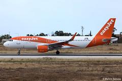 easyJet Europe Airbus A320-214     OE-ING     LMML (Melvin Debono) Tags: easyjet europe airbus a320214   oeing cn 8119 lmml